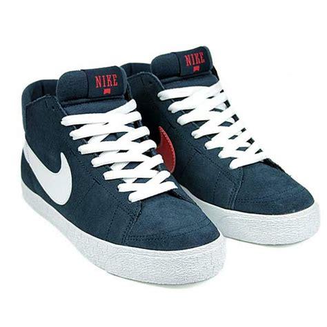 Nike Sb Blazer Navy White nike sb blazer mid lr navy white natterjacks