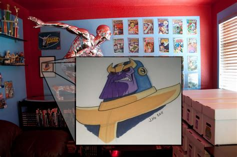 finally my home office the quot marvel room quot is complete