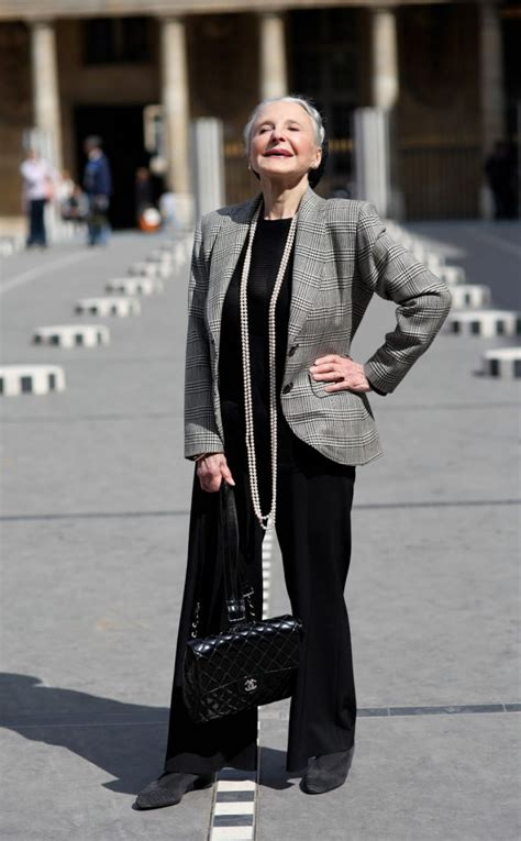 older women street style paris mature joyce in paris advanced style
