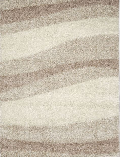 Karpet Flokati modern shag abstract area rug 5x7 contemporary flokati