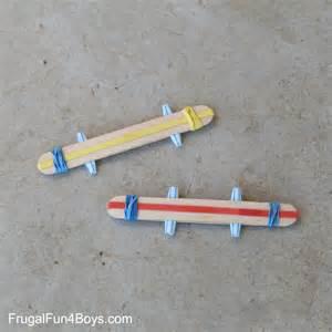 Baby Halloween Craft Ideas - make a craft stick harmonica