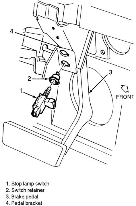 brake light switch autozone repair guides brake operating system brake light