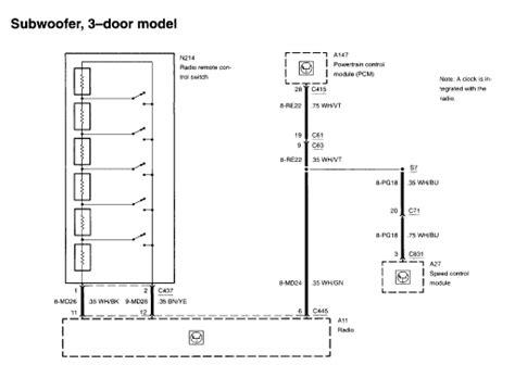 2002 ford focus radio wiring diagram readingrat net