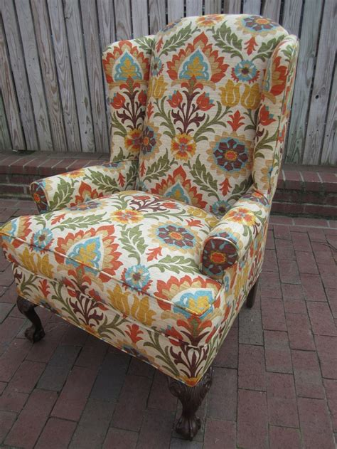 Fabric Armchairs Design Ideas 17 Best Images About Burnt Orange And Teal Living Room Colors On Burnt Orange