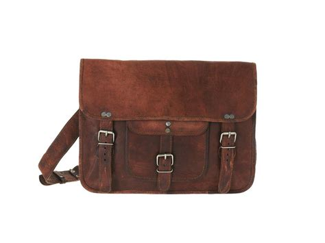 Handmade Leather Satchels - handmade leather satchel retro style that s made to fit a