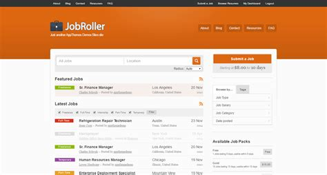 wp theme generator review jobroller wordpress theme download review 2018