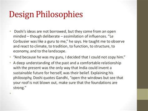 Interior Design Quotes works of b v doshi