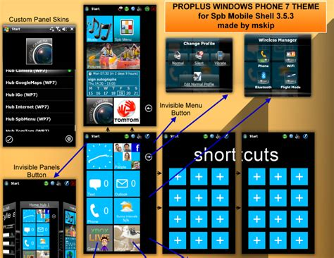 themes download windows phone windows phone 7 theme for spb mobile shell 3 5 3