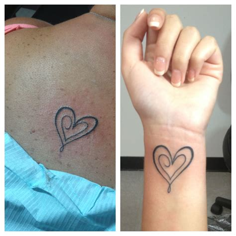 mother daughter tattoos our tattoos bit of everything