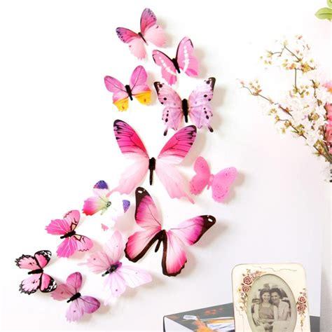 Stiker Kulkas 1 Pintu Minnie Pink by New Qualified Wall Stickers 12pcs Decal Wall Stickers Home