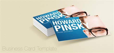 display business cards templates business card display psd template