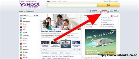 Cara Membuat Website Yahoo | cara membuat e mail di yahoo oto website