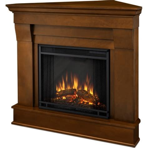 Walmart Corner Fireplace by Real Chateau Corner Electric Fireplace White