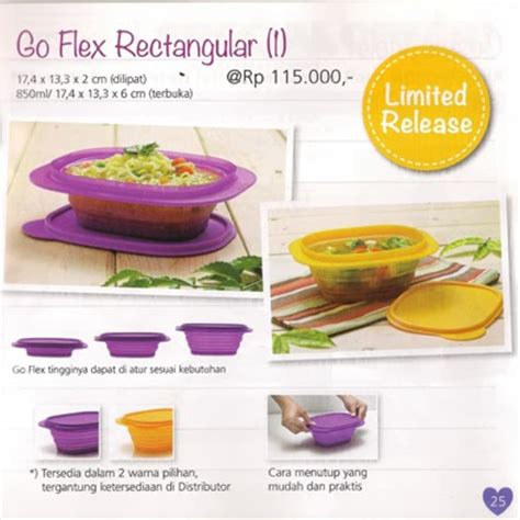 Goflex Tupperware go flex rectangular tupperware promo februari 2014
