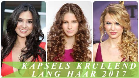 Kapsels Voor Lang Krullend Haar by Kapsels Krullend Lang Haar 2017