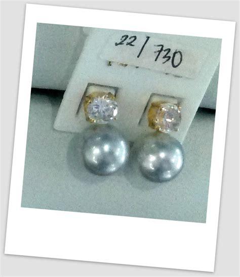Anting Ear Ring Pearl anting mutiara emas 0030 south sea pearl necklace price pearl wholesale gold jewelry harga
