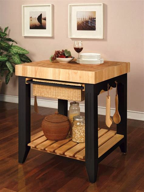 powell color story black butcher block kitchen island buy powell color story black butcher block kitchen island