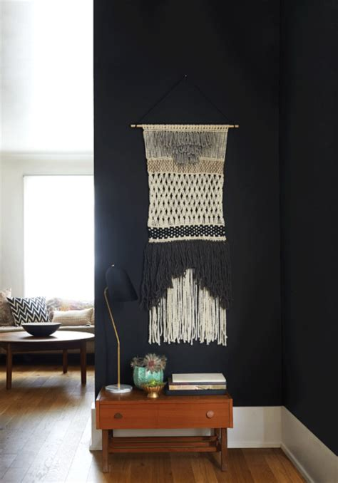 home trend decorate  walls  macrame chatelaine