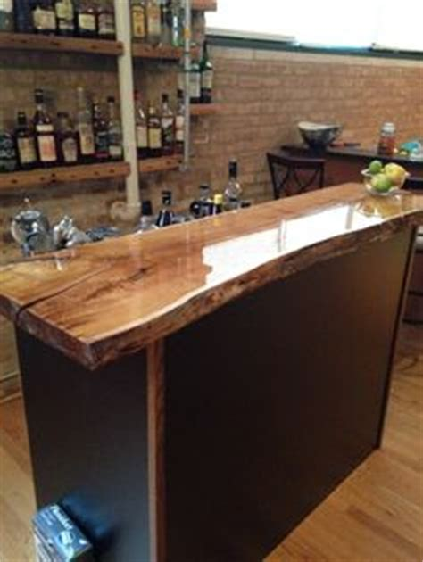 Wooden Bar Counters For Home Live Edge Slab Wood Countertop Claro Walnut Slabs Like