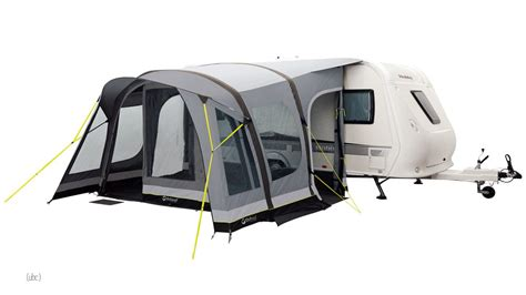 outwell awnings outwell belize reef 4 metre inflatable caravan awning