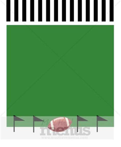 football menu templates big menu background sports menu backgrounds