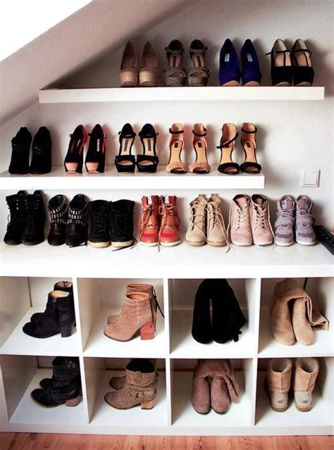 shoe wall shelves 45 creative ideas to store your shoes shelterness