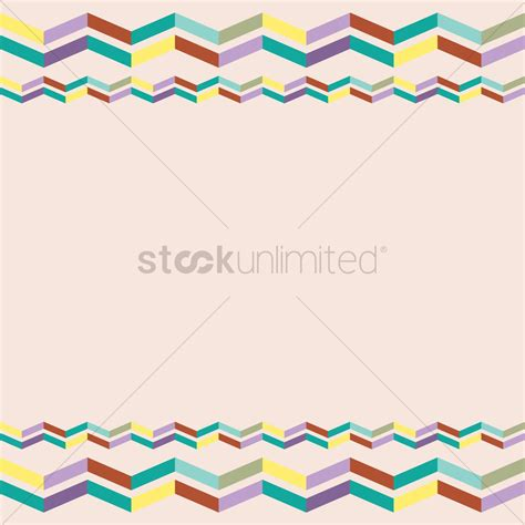 header graphic design definition abstract background with header and footer vector image