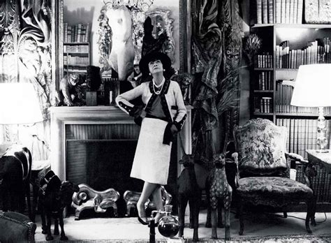 St Coco Chanel coco chanel s apartment photographed by fifty shades