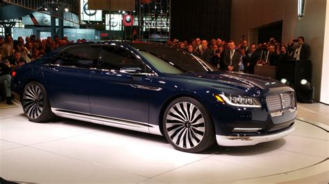 Lincoln Continental New by All New Lincoln Continental Shifting Lanes