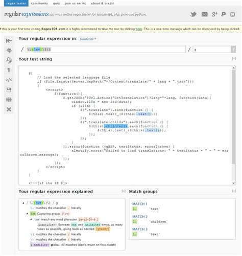 javascript regex pattern variable best 25 regex expression ideas on pinterest regular