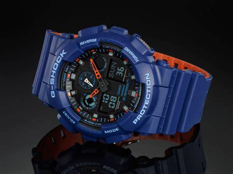 Casio G Shock Ga 100l 1a Original g shock ga 100l 2a from bi color series