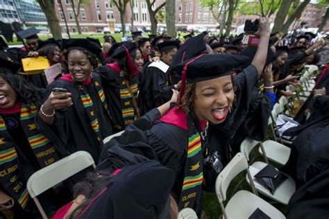 Uncf Mba Scholarship by Harvard Quot Black Only Quot Graduation Girlsaskguys