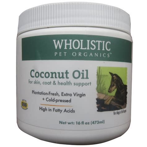 is coconut for dogs wholistic pet organics coconut for dogs and cats