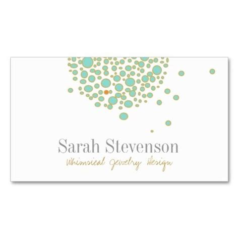 Whimsical Business Card Templates by Whimsical Jewelry Designer Business Card Jewelry