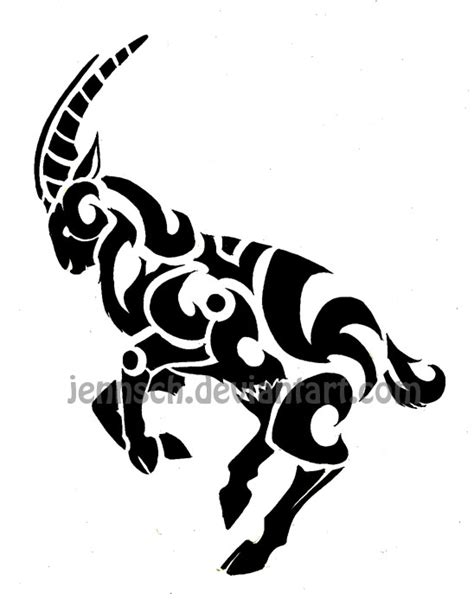 chinese ox tattoo designs zodiac goat by jennsch on deviantart