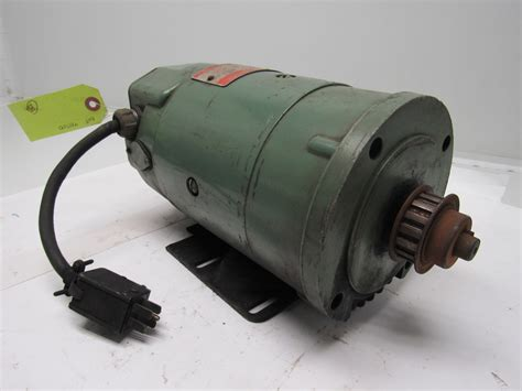 56 frame motor ge general electric 5bcd56kb32b 1 4 hp dc electric motor