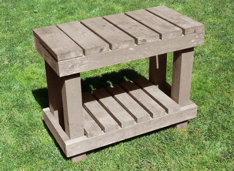 free potting bench plans potting bench plans