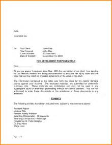 Sle Settlement Letter by Counter Offer Letter Exle For Personal Injuryfull And Settlement Letter 166040png
