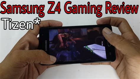 samsung z4 tizen gaming review