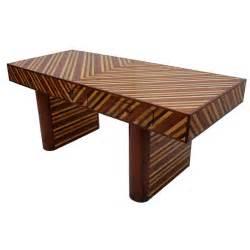 Ebony Desk Mid Century Modernist Exotic Wood Desk In Cocobolo Ebony