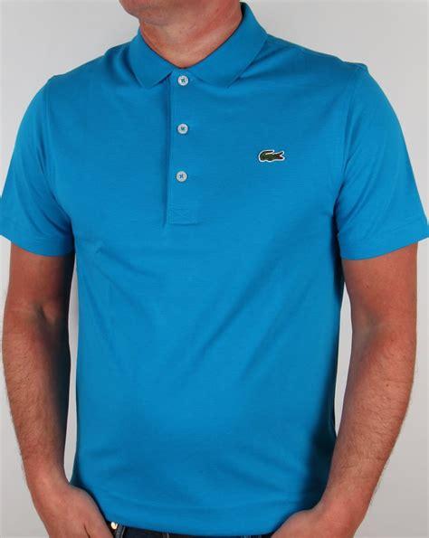 Polo Shirt Locoste lacoste polo shirt blue estuary royal turquoise