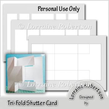 tri fold birthday card template free tri fold shutter card template 163 1 20 instant card