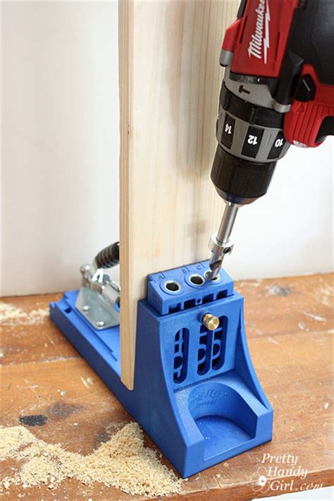drilling jig woodworking how to use a kreg jig pretty handy