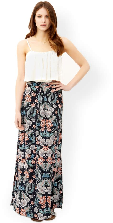 monsoon sandrine maxi skirt shopstyle co uk