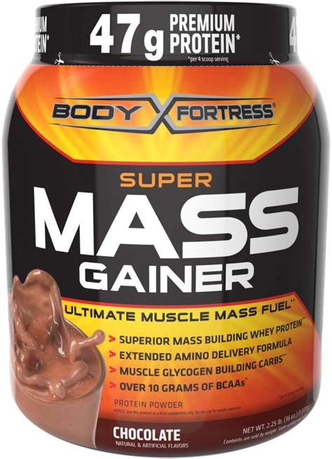 Whey Protein Gainer new fortress mass gainer chocolate whey protein powder 2 25 pounds