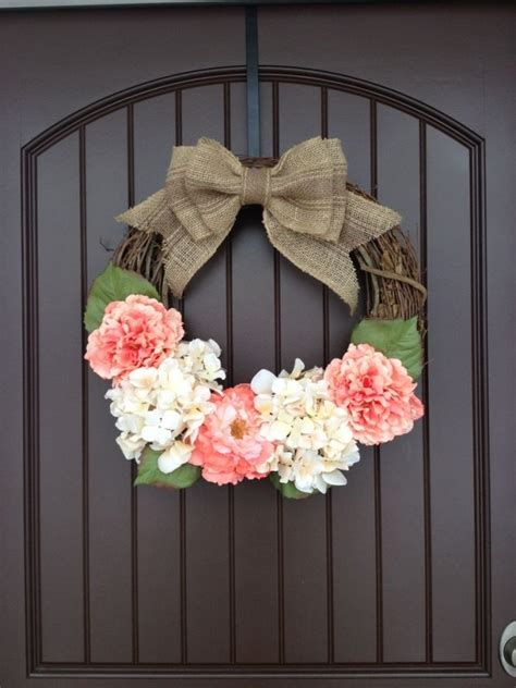spring wreaths diy hang with a ribbon 55 awesome wreaths to adorn your