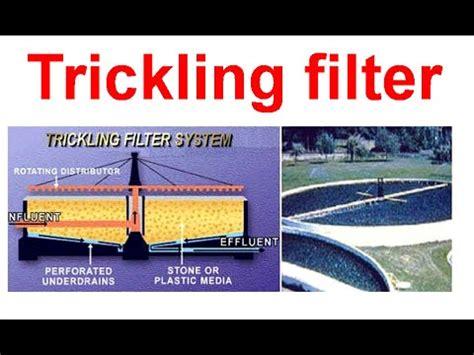 design criteria for trickling filter trickling filter system youtube