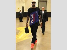 LeBron James Wears 'Red October' Nike Air Yeezy 2 to Game ... Lebron 9 What The Mvp