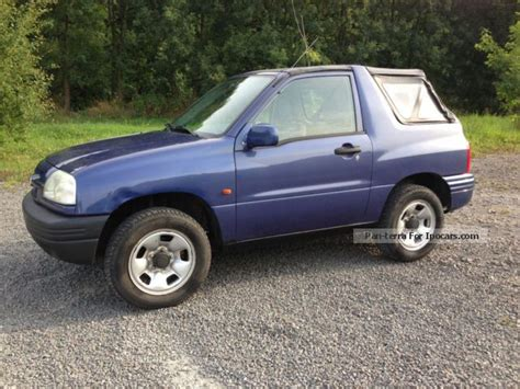Suzuki Grand Vitara 1999 Suzuki Grand Vitara 2 0 1999 Technical Specifications