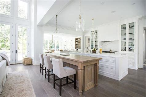 kitchen island dining table center island doubles as dining table transitional kitchen